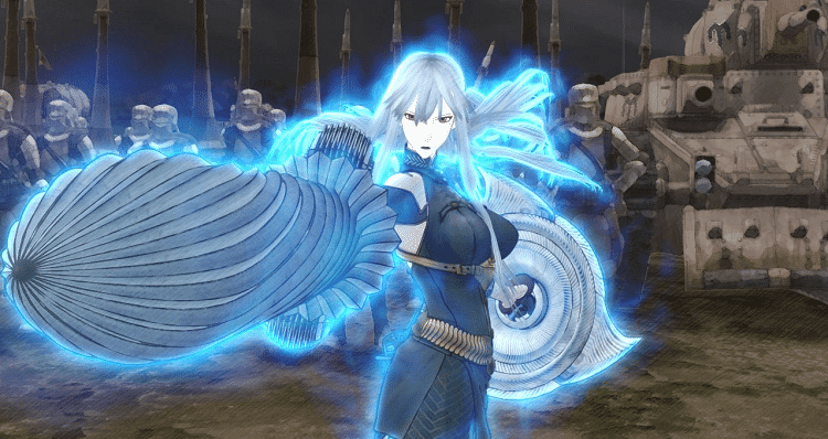valkyria chronicles - selvaria bles