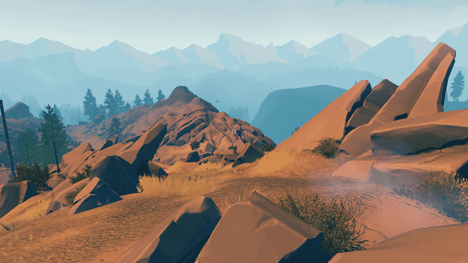 firewatch mountains
