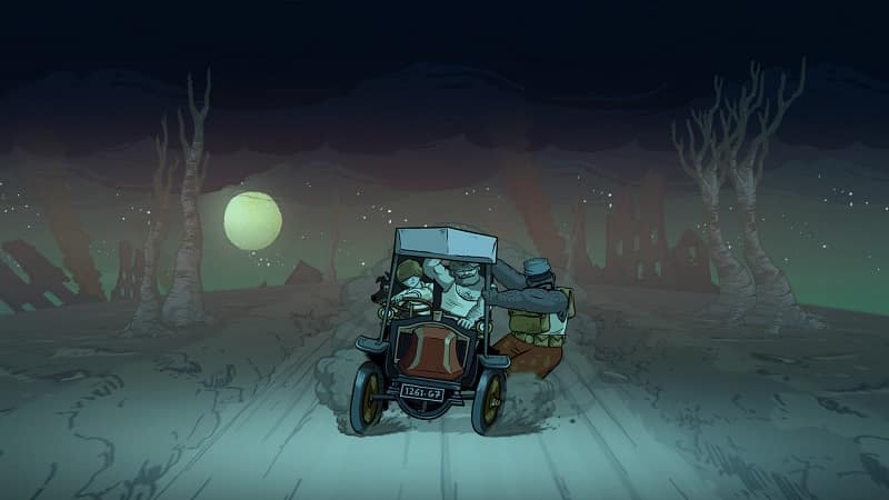 valiant hearts car chase