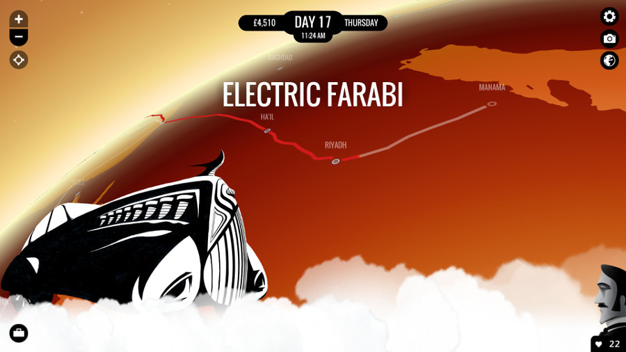 electric farabi 80 days