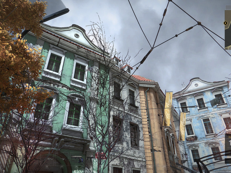 new style buildings in prague, Deus Ex: Mankind Divided